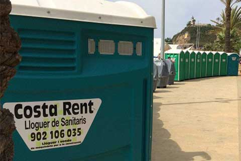 lloguer sanitaris costa rent