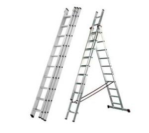 alquiler escaleras aluminio