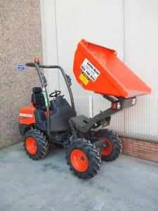 Dumper 4x4 1200kg descarga frontal elevable