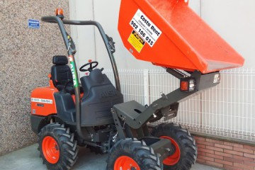 Dumper 4x4 1200kg descarga frontal elevable
